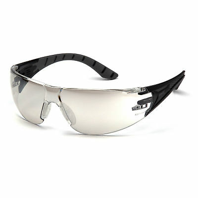 Pyramax Endeavor Plus Safety Glasses with Indoor/Outdoor Mirror Lens