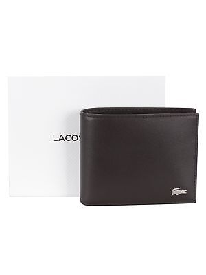 652a16f0b8 LACOSTE MENS 2018 Fitzgerald Leather Wallet And Key Chain Set ...
