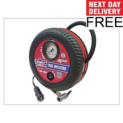 Faithfull Tyre Inflator 12v Low Volume F&F