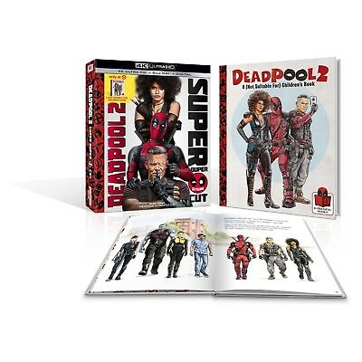 DeadPool 2 Target Exclusive 4K Ultra HD + Blu-Ray+ Digital +24 Page Digibook
