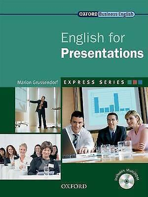 Oxford Business English Express Series ENGLISH FOR PRESENTATIONS w MultiROM New