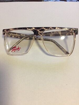 50's Grease FABERGE CLOUD AVIATOR Eyeglasses Aviator FRAMES Taupe 2181 Grease