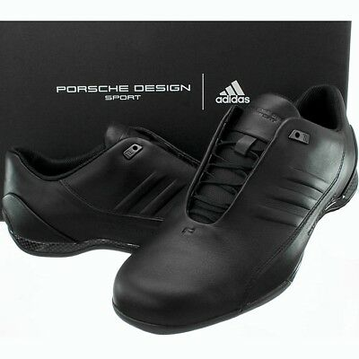 23ed10c66e9 Adidas PORSCHE DESIGN Athletic Leather IV black exklusive luxus sneakers  shoes