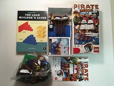 LEGO Pirate Plank (3848) - INCOMPLETE, Mixed LEGO Lot & The LEGO Builder's Guide