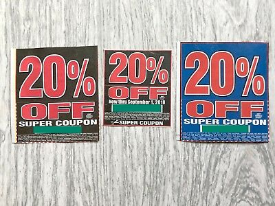 3 Harbor Freight Super Coupons 20 Off Any Item Home Depot