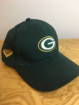 Green Bay Packers Citgo Embroidered Adjustable Hat Cap with Cheese Slice on  Side a053fc4a9