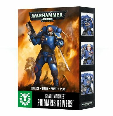Space Marines Easy to Build Primaris Reivers Warhammer 40K NIB Flipside