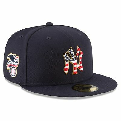 buy popular 8d12e e1a04 New York Yankees New Era 2018 Stars   Stripes 4th of July 59FIFTY Fitted Hat