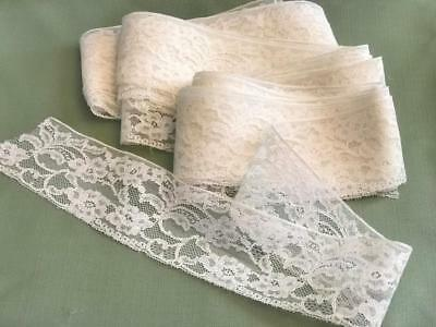 13yd  BEAUTIFUL Antique/ Vintage Cotton Lace  Doll clothing Crafts etc.
