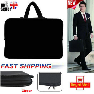 "15.6"" Nylon Universal Laptop Bag Sleeve Carry Protective Pouch Tablet Case UK"