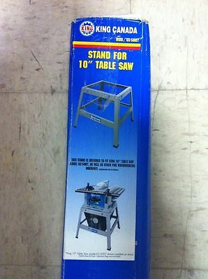 """King Canada Tools SS-5007 STAND FOR 10"""" TABLE SAW KC-5007 FITS OTHER WOODWORKING"""