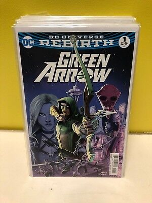Green Arrow #1-23 Set/Lot DC Comics Rebirth (2016) 1st Print