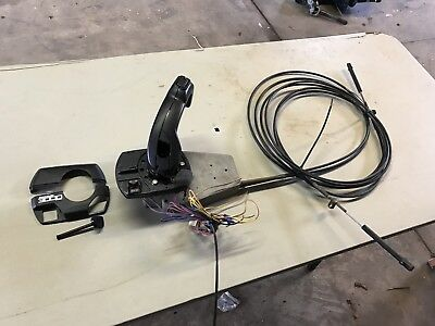 Mercury Mercruiser Quicksilver 3000 Side Mount Control Box With Cables 827270A