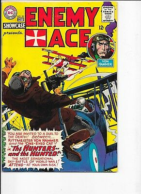 Showcase  #58  Enemy Ace  Kubert