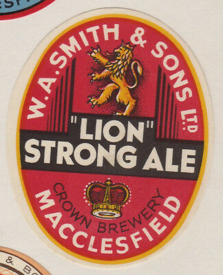 Smith's of Macclesfield 1950s Lion Strong Ale