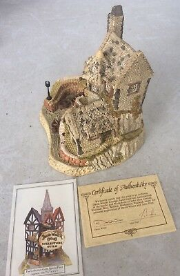 David Winter Cottages Cornish Harbour 1987 West Country Collection- Box & CoA
