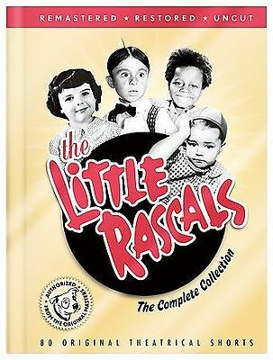 The Little Rascals:Complete Collection (DVD,8-Disc Set,80 Original Shorts) NEW