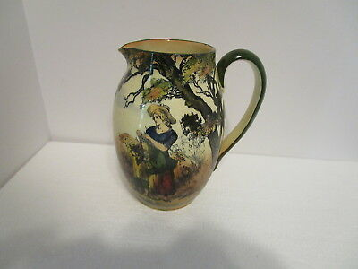 "Royal Doulton Seriesware GLEANERS D3191 7"" Pitcher - 32 oz. - First Series"