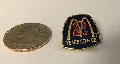 McDonald's 2 Years Service Pin