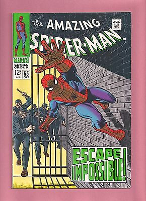 Marvel 1968 Amazing Spider-Man # 65 in VF+/NM condition !!!