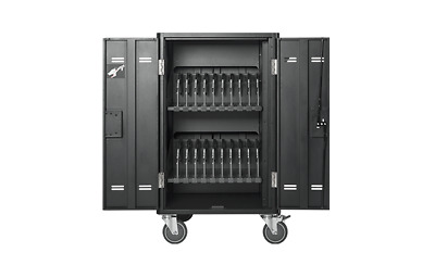 "AVerMedia 20 bays Chromebooks, tablets, laptops up to 16"" screen Charge Cart -"