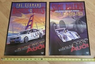 AUDI Official R8 ALMS + SCCA World Challenge RS6 Pobst Championship Posters 2003