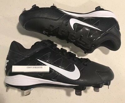 huge selection of ebc0e bb6cc NEW Nike Hyperdiamond Strike Metal 8 Women s 684696010 Fastpitch Softball  Cleats