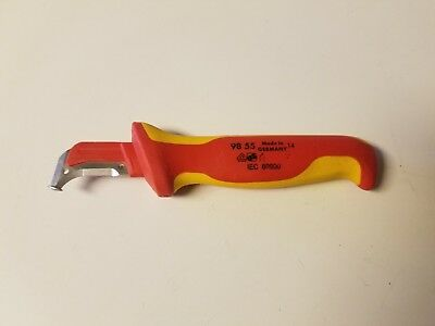 Knipex 98-55 Insulated Dismantling Knife