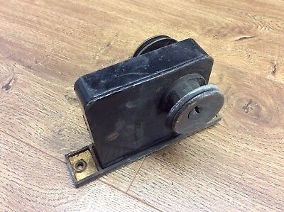 Vintage Early Corbin Mortise Style Door Lock Latch Brass Striker Plate G4