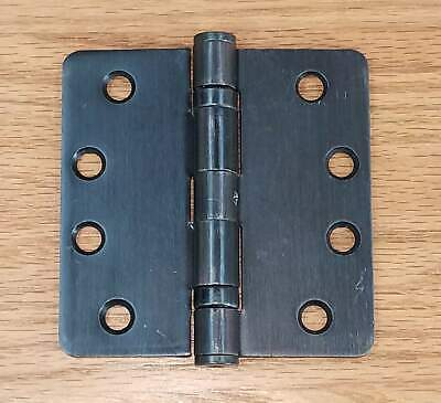 """Commercial Ball Bearing Door Hinges 4"""" with 1/4"""" radius corners - Multiple Finis"""