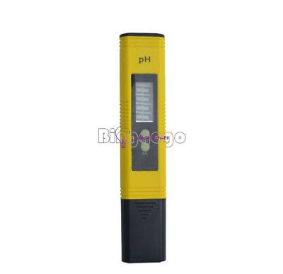 Protable Digital PH Meter Tester Aquarium Pool Water Wine Urine LCD Pen Monitor
