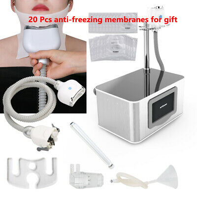 Fat Freeze Machine Cold Cooling Vacuum Freezing System Double Chin Remove Device