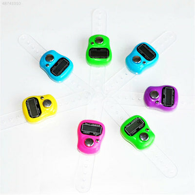 Compact Finger Counter Random Color Click Tally Tally Manual Counting