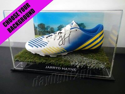 reputable site 55dab 06a71 ✺SIGNED✺ JARRYD HAYNE Football Boot PROOF COA Parramatta Eels NRL 2019  Jersey
