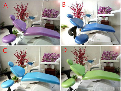 Dental Unit Chair Cover Sleeves Protector Waterproof PU Headrest Quality Gurante