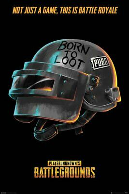 Poster PUBG Born to Loot