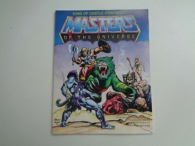 Masters Of The Universe Motu Comic King Of Castle Grayskull (It/Ger) Taiwan 1981