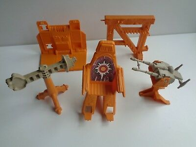 Masters Of The Universe Motu Part Castle Grayskull Elevator Weapon Rack Throne