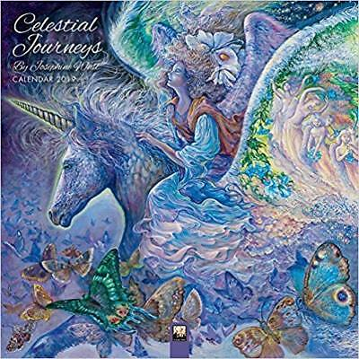 Celestial Journeys by Josephine Wall 2019 Square Wall Calendar