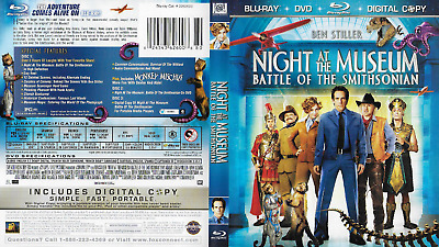 Night at the Museum: Battle of the Smithsonian (Blu-ray/DVD, 2009, 3-Disc Set)