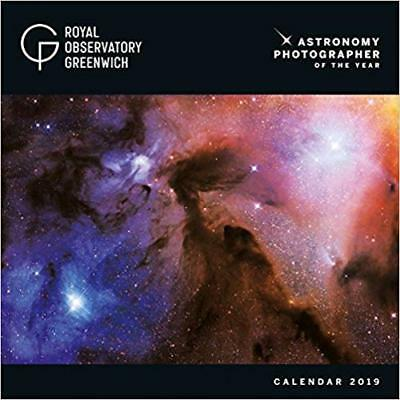 Greenwich Royal Observatory Astronomy 2019 Square Wall Calendar