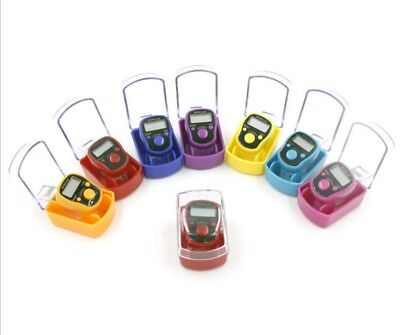 5 digits LED Tally Counter Finger Ring Hand Tally Counter Digital Timers 、Pop