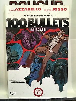 100 Bullets Deluxe Edition Hardcover Volume 2 Azzarello Vertigo 9781401233723