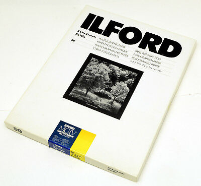 50 sheet box of 11x14 ILFORD Multigrade IV RC deluxe satin paper