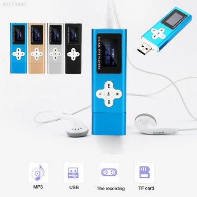 CA48 32GB Mini Clip Metal USB MP3 Player Support Micro SD TF Card Music Media