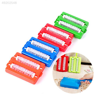 C2AD 2 Brushes Heads Handheld Carpet Table Sweeper Crumb Brush Cleaner Roller