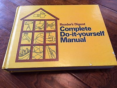 Readers digest complete do it yourself manual 1973 vintage hardcover readers digest complete do it yourself manual 1973 hardcover 600 pages handyman solutioingenieria Image collections