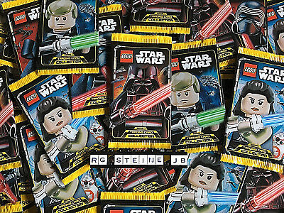 LEGO Star Wars Trading Card Serie 1 Collection 20 Booster Packs = 100 Karten NEU