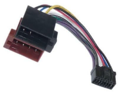 Adapter Universe 1070 KFZ Auto Radio Adapter Kabel Din Iso 16 Pol Stecker Kabelb