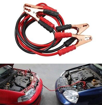 500A Car Truck Emergency Power Supply Battery Line Cord Booster Jumper Cable 2M